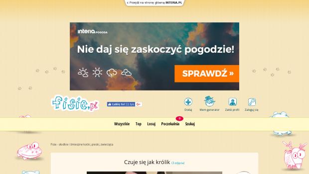 45bc0faf011d8 Darmowy audyt online dla strony fisie.pl - ocena 3, SEO wynik 60