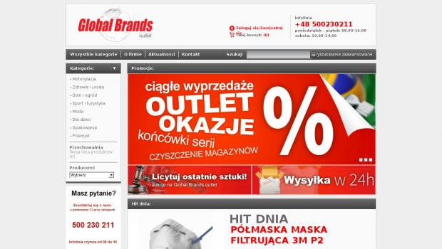 e6c6a6d65a1b6 Darmowy audyt online dla strony globaloutlet.pl - ocena 2