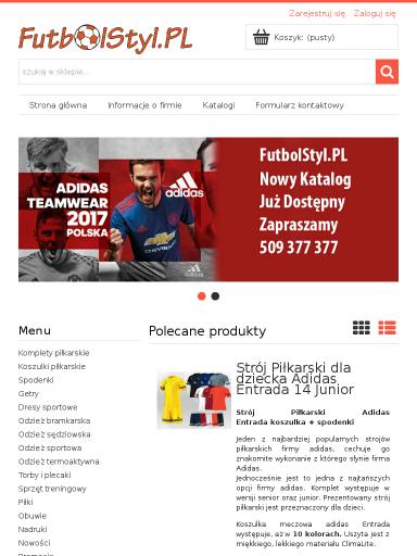 7d4ed28f8209a Darmowy audyt online dla strony futbolstyl.pl - ocena 3+