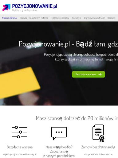 49cf2ca6b8295 Darmowy audyt SEO online dla Twojej strony - Pozycjonowanie.pl