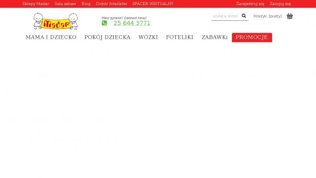 34be1236a0c84f Darmowy audyt online dla strony madarbaby.pl - ocena 3, SEO wynik 43